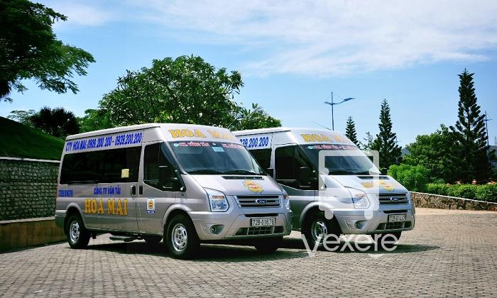 Xe khách Hoa Mai đi Vũng Tàu