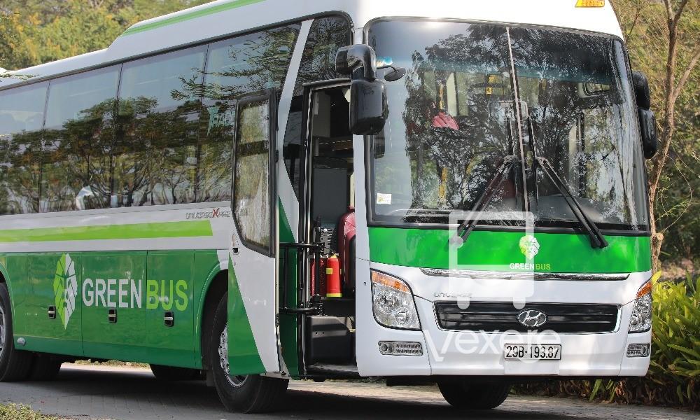 "Sleeper bus ""Green Bus"" to Sapa"